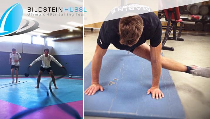 Einblicke in das Fitnesstraining von Bildstein/Hussl 02