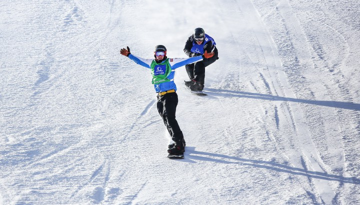 Snowboardcross: Izzy Hämmerle auf WM-Rang 5! 01
