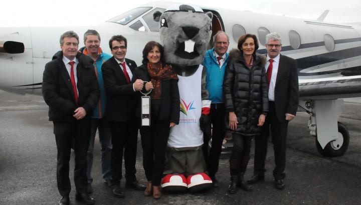 Olympische Flamme in Vorarlberg 01