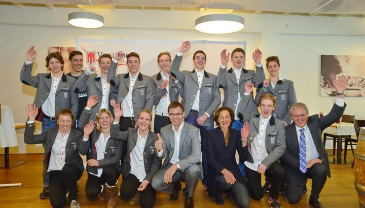 Empfang des Landes für Vorarlbergs erfolgreiche EYOF-Teilnehmer 01
