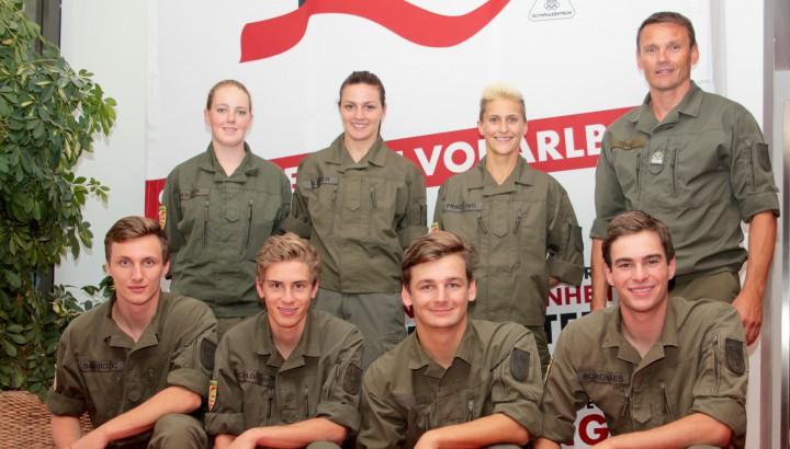 7 neue Heeressportler in Dornbirn 01