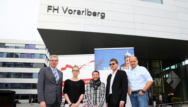 Sportmanagement: Kooperation mit Schloss Hofen und der FHV 01
