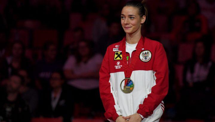 Betti Plank holt Bronze bei Karate-WM in Linz! 01