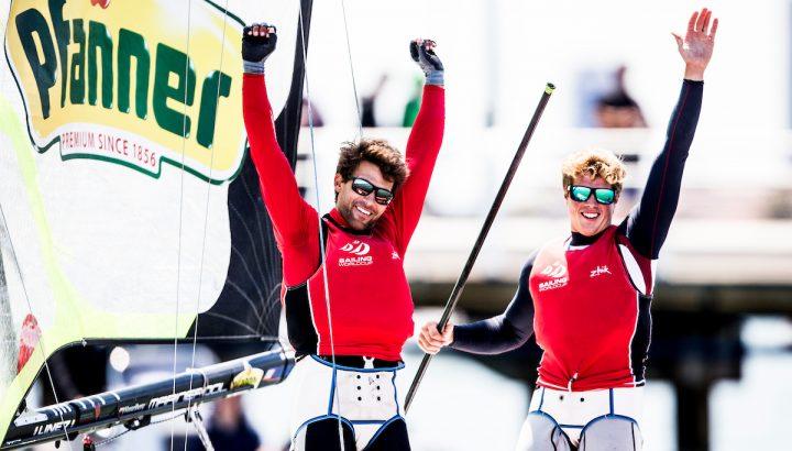 Bildstein/Hussl gewinnen 49er-Weltcupfinale! 01