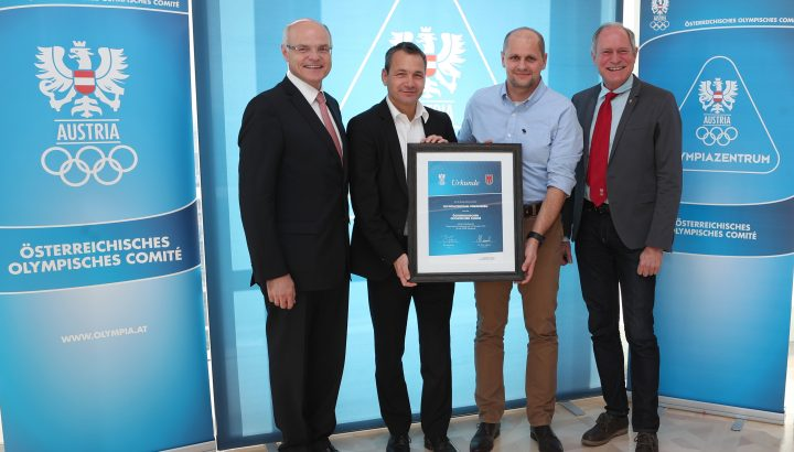 Olympiazentrum Vorarlberg als Olympiazentrum bis 2020 re-zertifiziert! 01