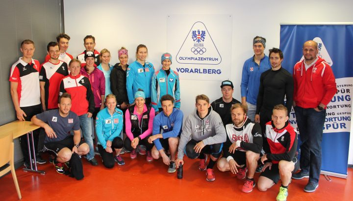 ÖSV: Start des Sommertrainings im Olympiazentrum Vorarlberg 01