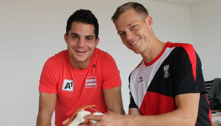 Daniel Meier und Martin Hämmerle – Reha mit eingespieltem Team 01