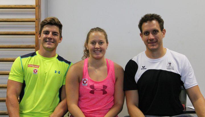 SBX: Katharina Neussner und Sebastian Jud ergänzen Trainingsgruppe 01