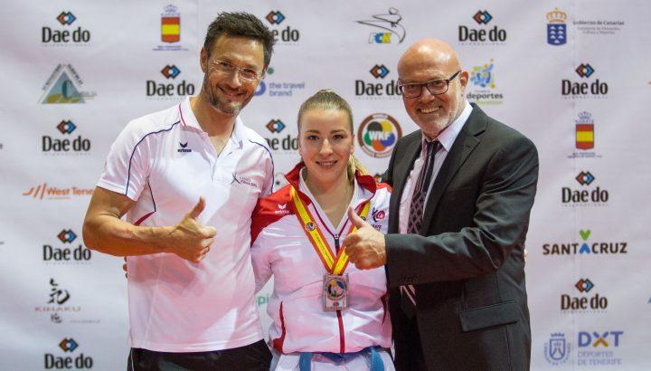Karate: WM Silber für Bahledova 01