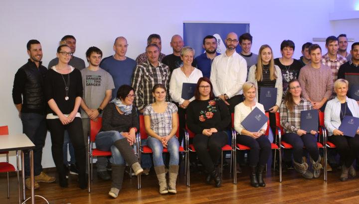 Übungsleiter-Zertifikatsfeier mit Manuel Trappel 01