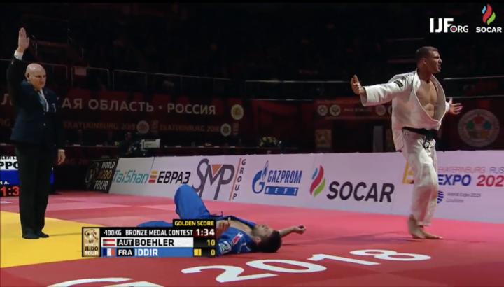 Judoka Laurin Böhler holt Bronze bei Grand Slam! 01