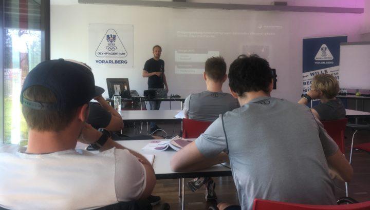 Neuroathletiktraining: Interne Fortbildung im Olympiazentrum 01