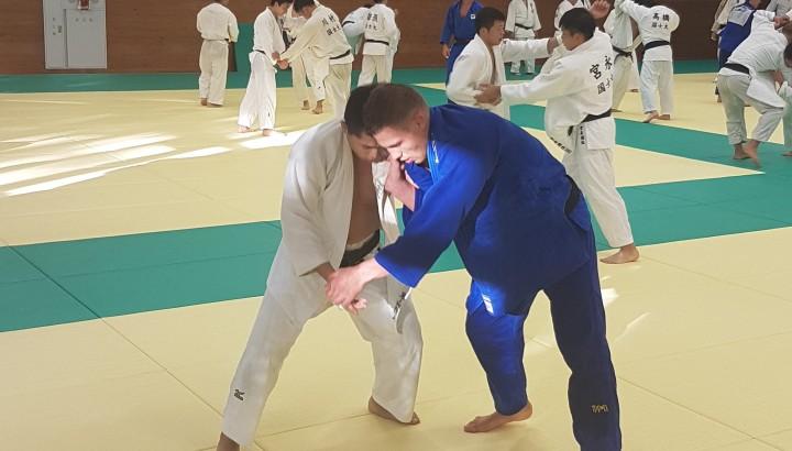 Laurin Böhler auf Judo Elite-Trainingslager in Japan 01