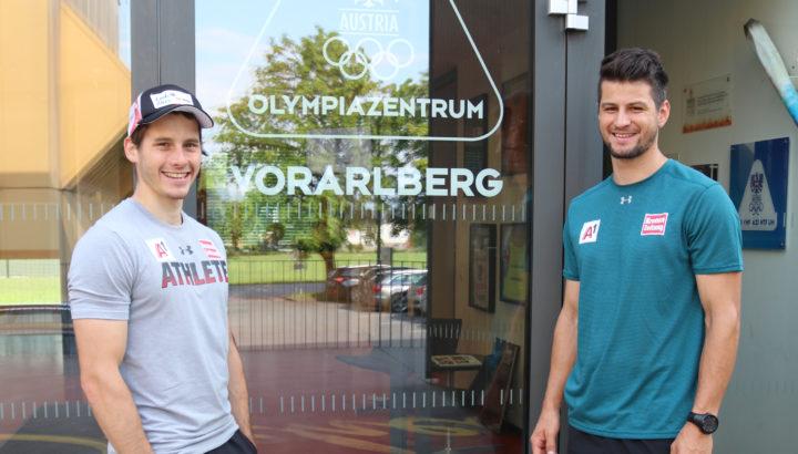 ÖSV-Stützpunktkonzept: 2 Arlberger im Olympiazentrum 01