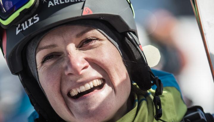 Weltmeisterin Lorraine Huber beendet Wettkampf-Karriere auf der FWT 01