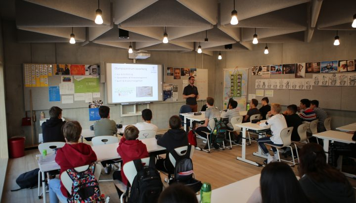 Spitzensport & Lehre: Informationstour Mittelschulen 01