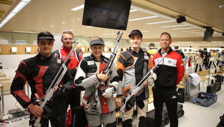 Nationalkader-Lehrgang der Schützen im Olympiazentrum 01