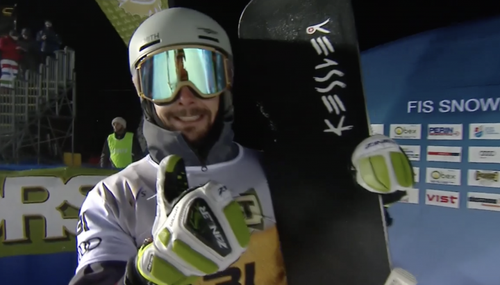 Lukas Mathies: Starker 7. Platz in Cortina 01