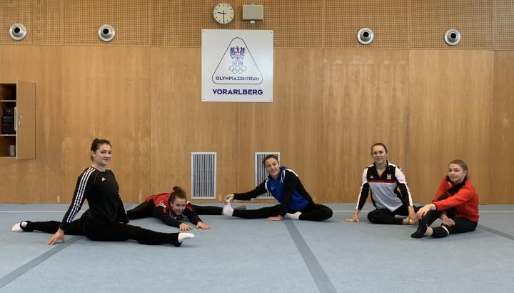 Nationalkader-Training Turnerinnen im Olympiazentrum 01