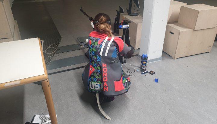 US-Shooting Team im Olympiazentrum auf Trainingslager 04