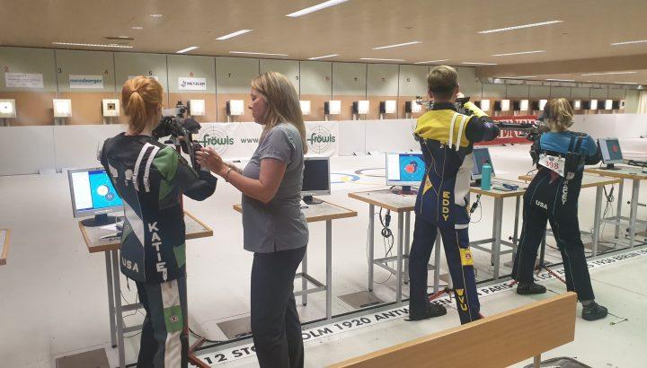 US-Shooting Team im Olympiazentrum auf Trainingslager 03