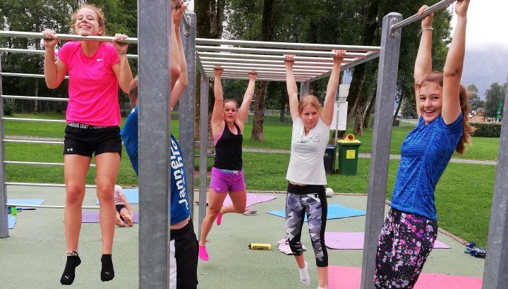 VSV-Nachwuchs trainiert im Olympiazentrum 01