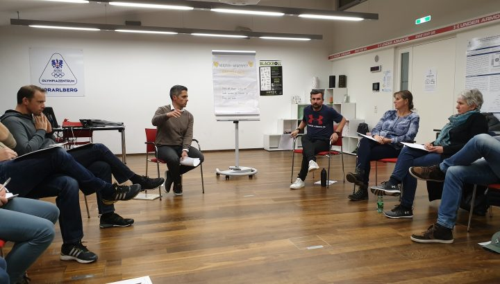 Workshop GESPÜR im Rahmen der SUCCESS IS A MINDSET Ausbildungsreihe 01